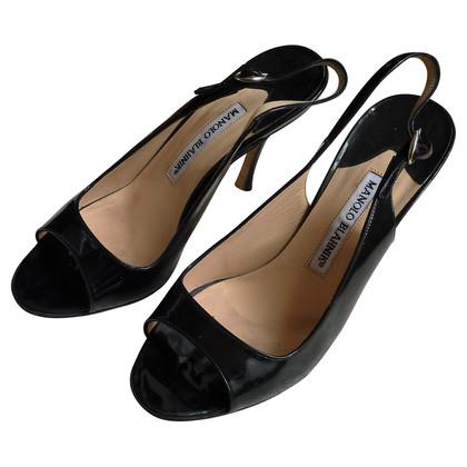 Manolo Blahnik Peep-dita dei piedi