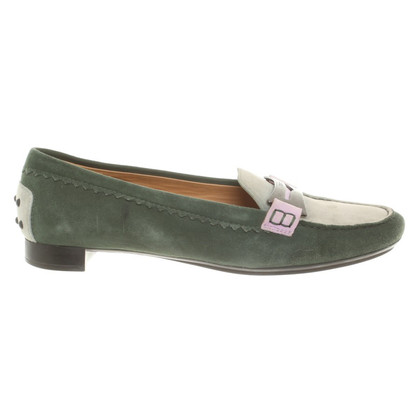 Tod's Multicolored suede loafers