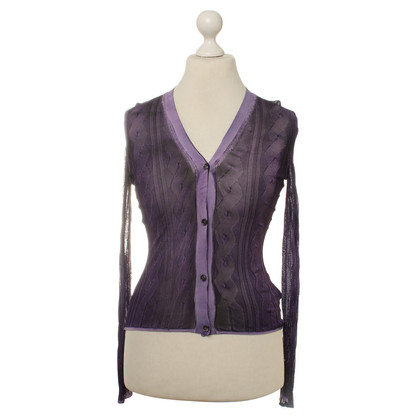 Bottega Veneta Cardigan in purple