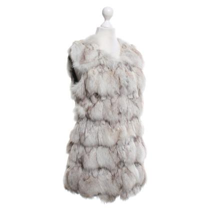Other Designer Just Female - vest made of fox fur