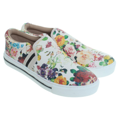 Marc Cain Sneaker with flower pattern