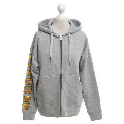 Sandro Hooded jacket with application