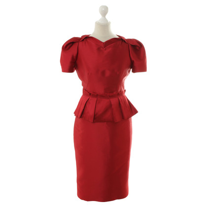 Aquilano Rimondi Shift dress in red