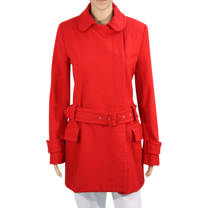 French Connection Wool coat in red