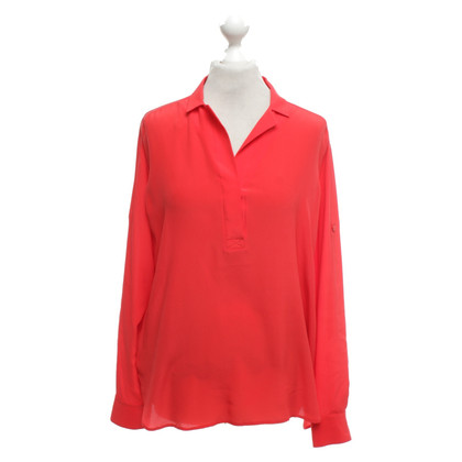 Hugo Boss Seidenbluse in Rot