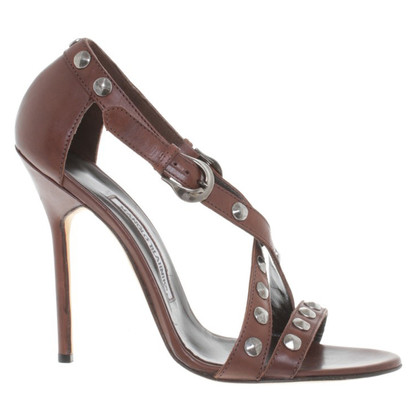Manolo Blahnik Sandals studded