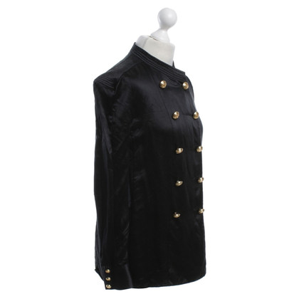 Balmain X H&M Silk blouse in black