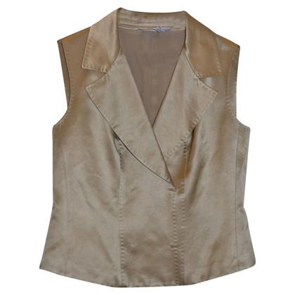 Max Mara Vest gemaakt van katoen / zijde