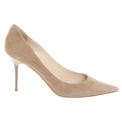 Jimmy Choo Suede pumps in Beige