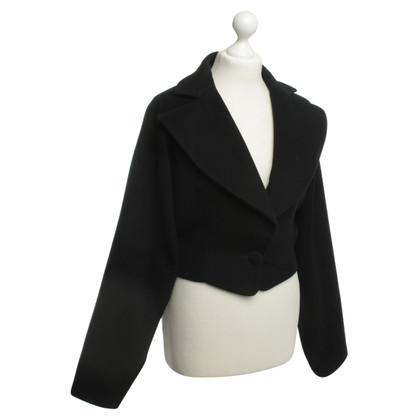 Emmanuelle Khanh Paris Bolero Blazer in zwart