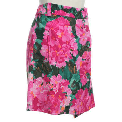 Balenciaga Floral mini skirt