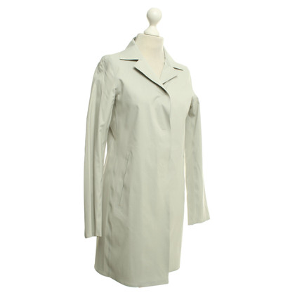 Herno Light coat in cream white