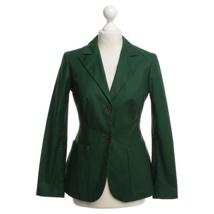 Jil Sander Elegant Blazer in Green