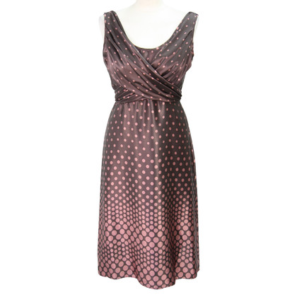 Ted Baker Spotted silk dress
