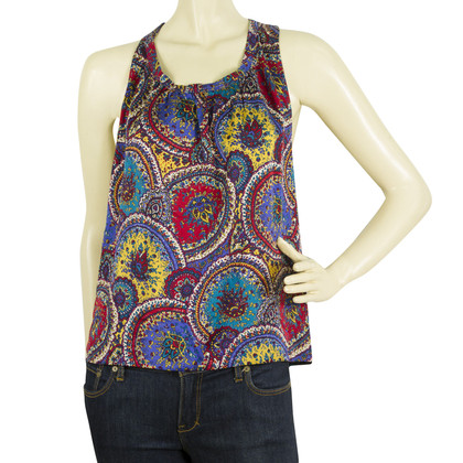 Marc Jacobs Silk top with pattern