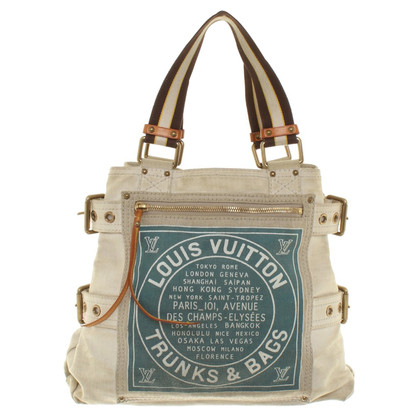 Louis Vuitton Tote Bag made of canvas