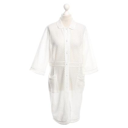 La Perla Coat dress in white