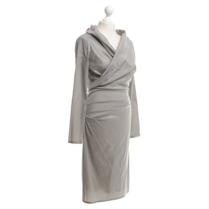 Talbot Runhof Silver colored dress