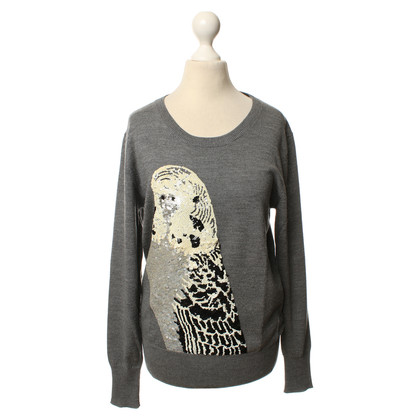 Markus Lupfer Sweater with sequins motif