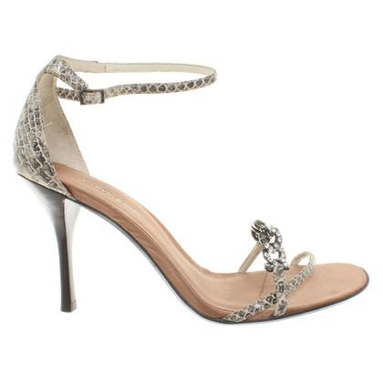 Calvin Klein Evening sandals in python look
