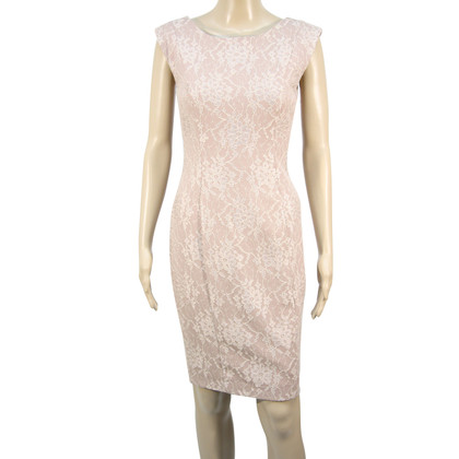 French Connection Lace dress in pink