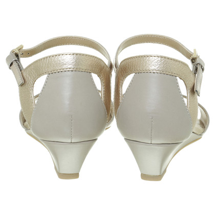 Hogan Sandals in metallic