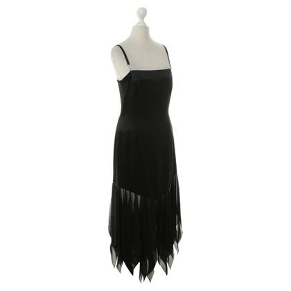 Laurèl Silk dress in black