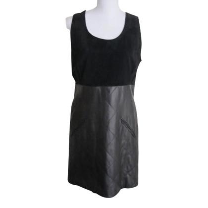 Chanel Kleid aus Leder/Wildleder