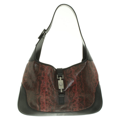 """Gucci """"Jackie O Bag"""" with reptile leather"""