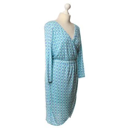 Gant Wikkel jurk met patroon