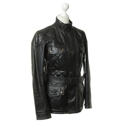 Belstaff The biker-style leather jacket
