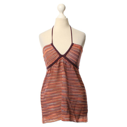 Missoni Halter top from knitting