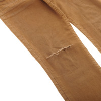 Current Elliott Camel ankle jeans