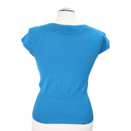 Hobbs top in blue