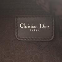 Christian Dior Lammfelltasche in Braun/Beige