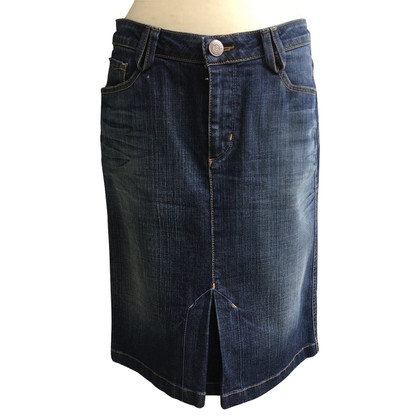 Bogner denim skirt