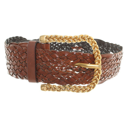 Valentino Belt in straw Design