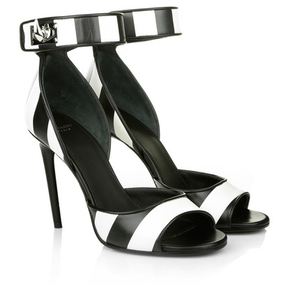 Givenchy Peeptoes met strepen