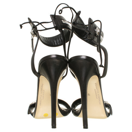 Ermanno Scervino High heel sandal in black