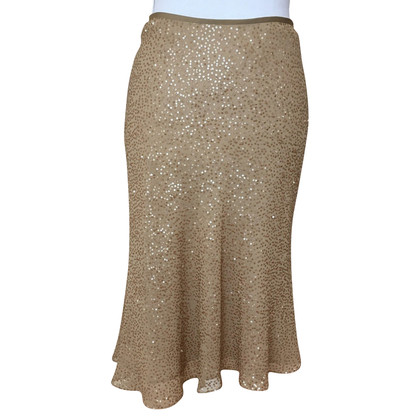 Calvin Klein Nude Sequined skirt