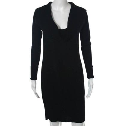 Diane von Furstenberg Black dress in fine knit