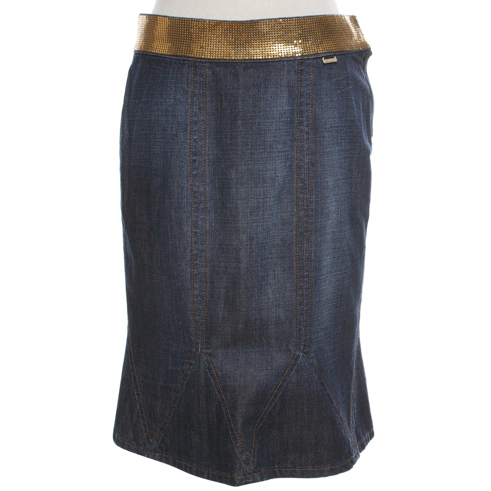 Escada Denim skirt in dark blue