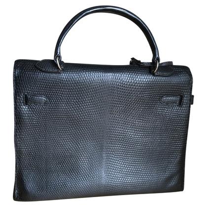 """Hermès """"Kelly Bag 35"""" hagedissenleer"""