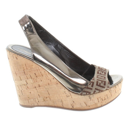Fendi Sandalen Wedge
