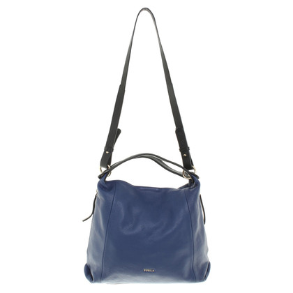 Furla Purse in Blue / zwart