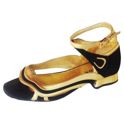 Prada Prada gold shoes
