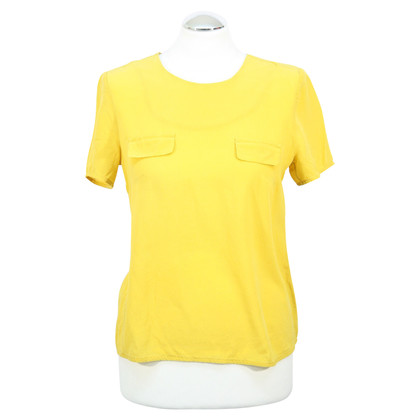French Connection Silk top in yellow