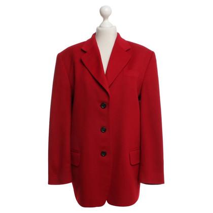 Windsor Kashmir -Blazer in het rood
