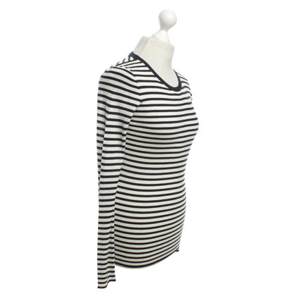 Theory Longshirt with striped pattern