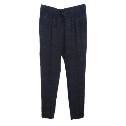 Comptoir des Cotonniers Pantaloni con il reticolo
